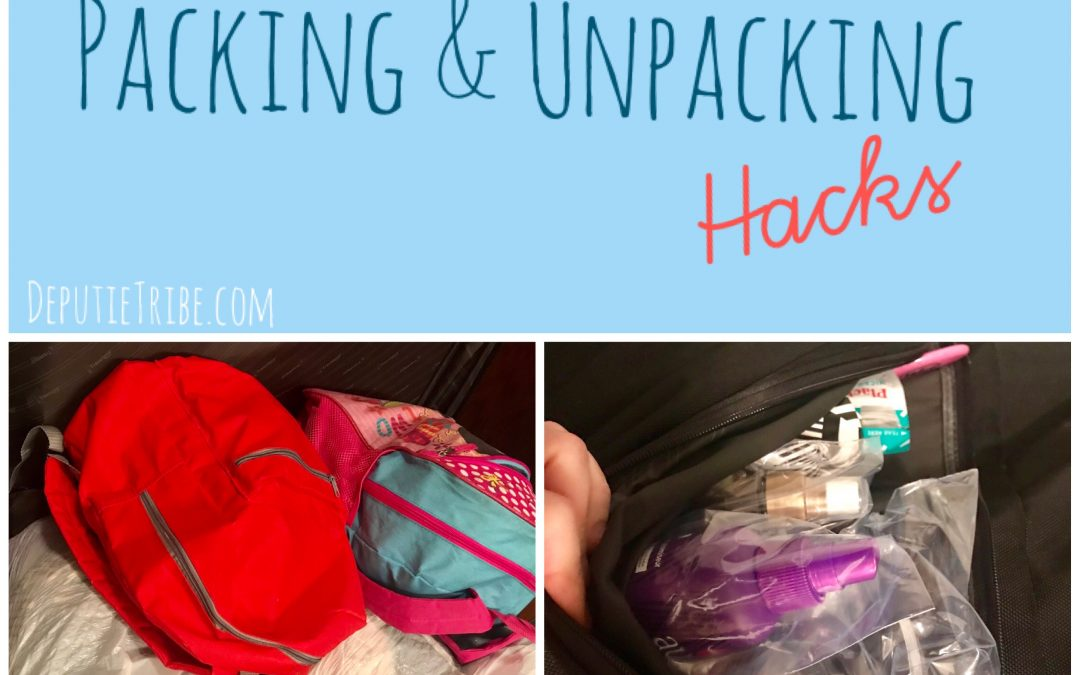 Packing & Unpacking Large Family Tips and Hacks