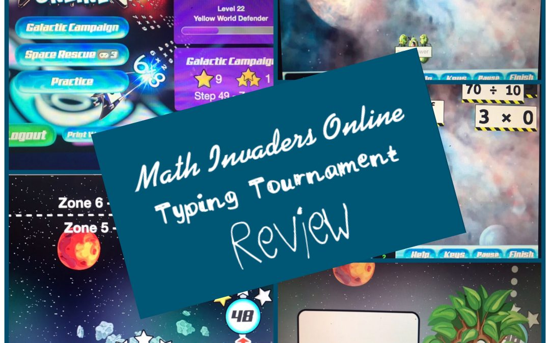 Math Invaders and Typing Tournament Review