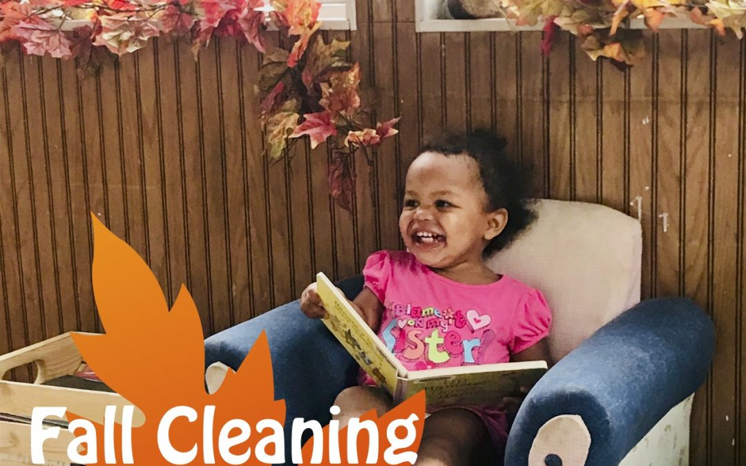 Fall Cleaning Large Family Style